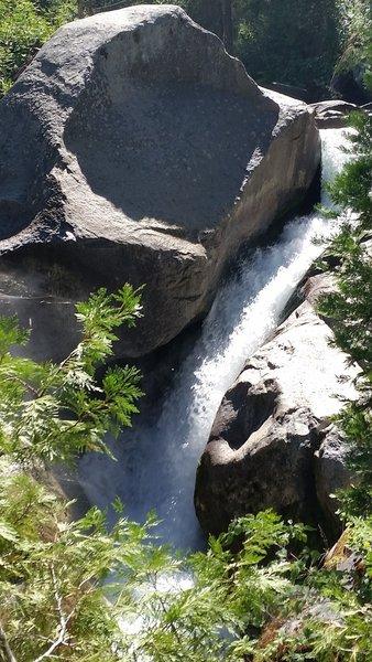 WaterFall at South Fork Bridge.
