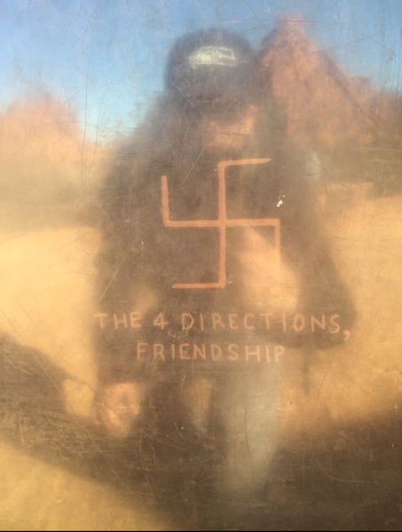 Crazy sign says this symbol means friendship???