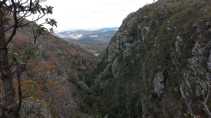 Lagoa Dourada Canyon