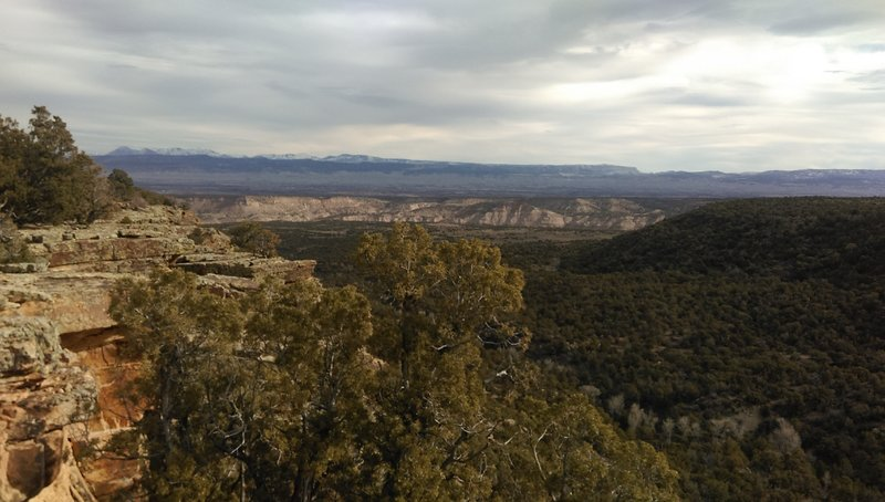 Overlook from the Fingers Trail