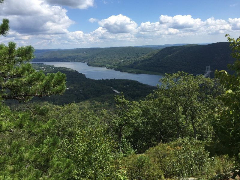 Hudson River from the Major Welch Trail on Bear Mountain