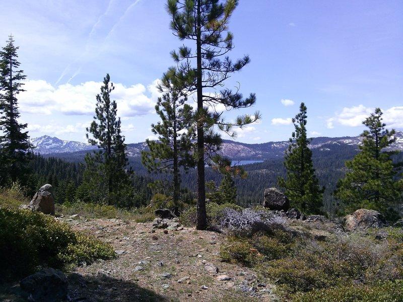 Lakes basin from near Mills Peak.