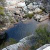 Lagoa Dourada Waterfall