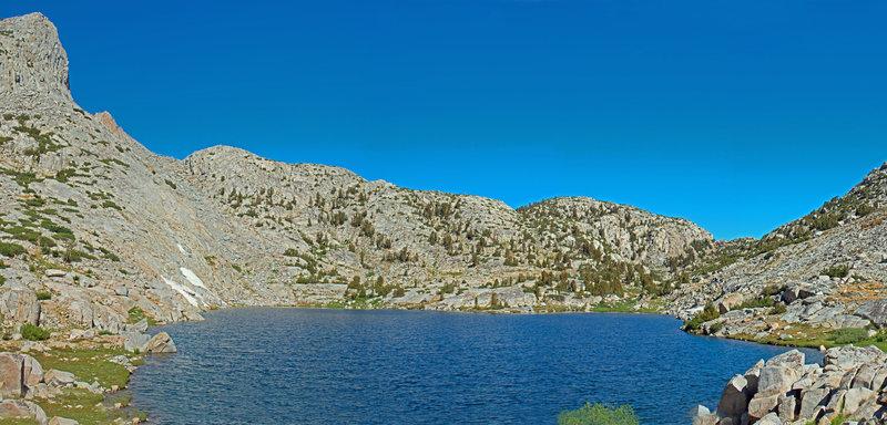 Heart Lake looking towards Selden Pass