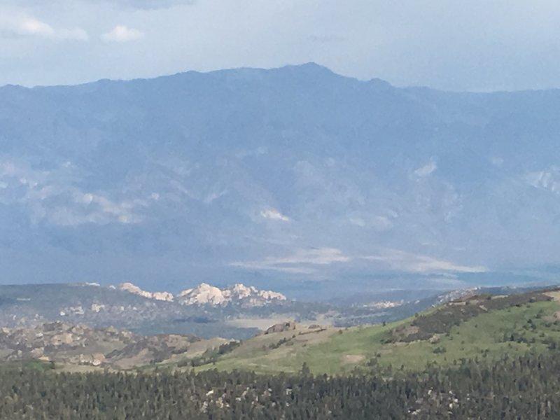 White Mountain Peak from Glass Mountain.