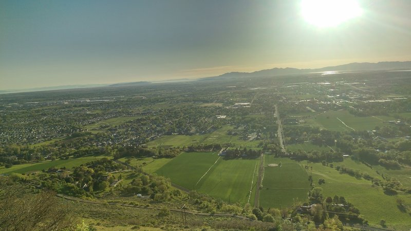 A view of Ogden from the BST.