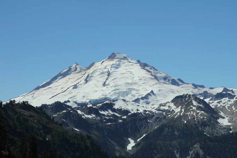 Mount Baker from Lake Ann trail