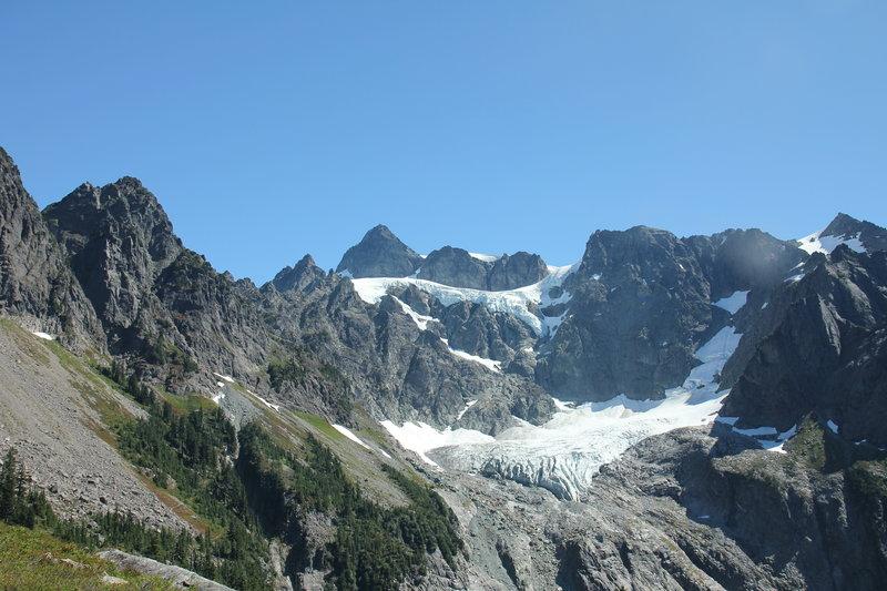 Mount Shuksan from Lake Ann trail