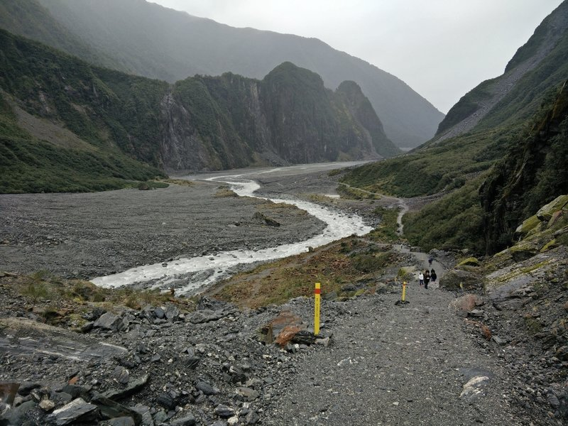 Track to Fox Glacier