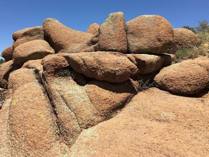Granite Pile