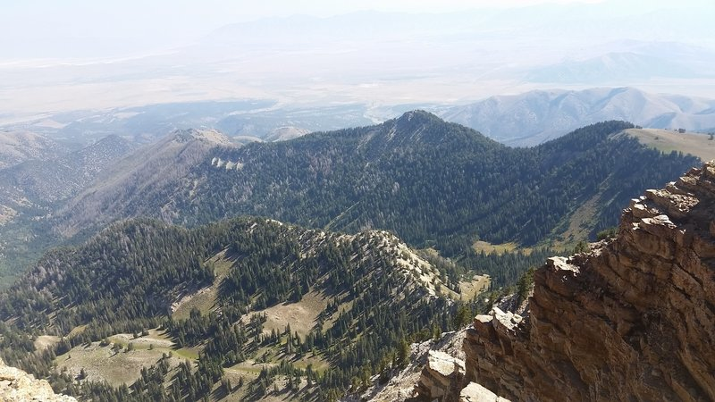 The Top of Deseret Peak