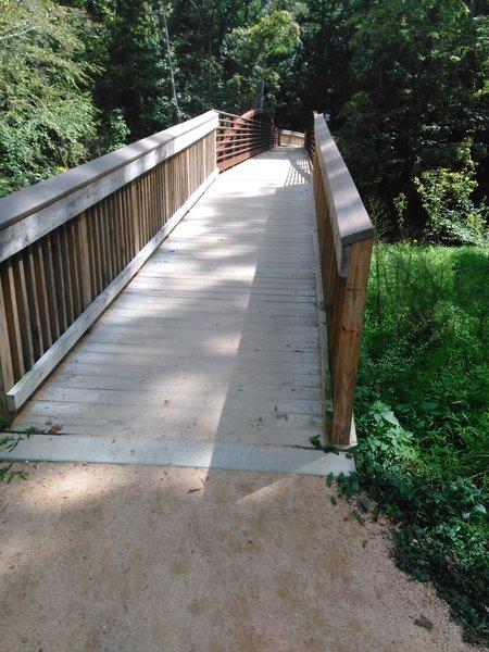 Bridge over the Eno River.