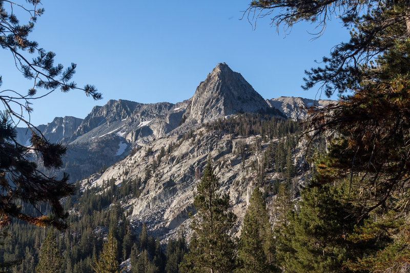 Crystal Crag from the Mammoth Crest Trail.