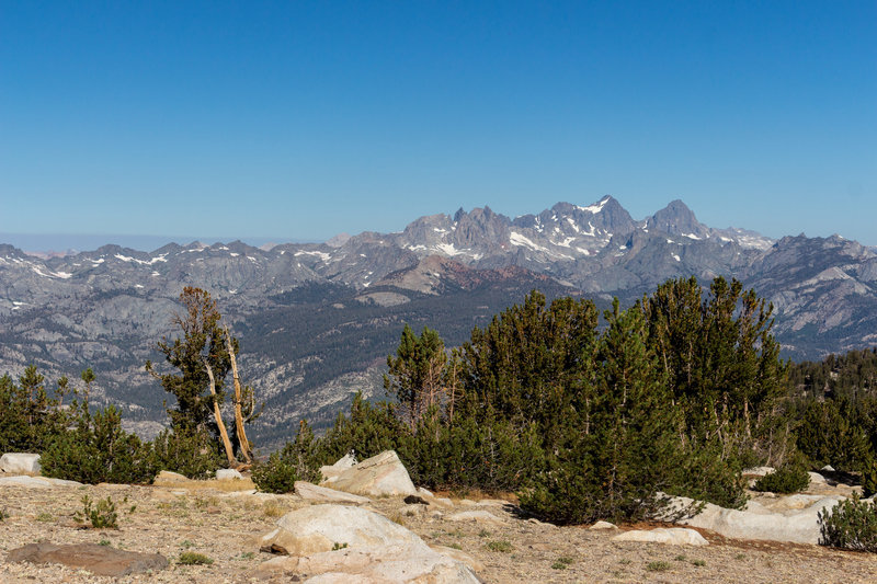 Western view from the Mammoth Crest