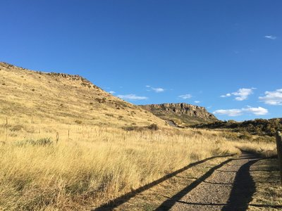 North Table Mountain Short Loop Hiking Trail Golden Colorado