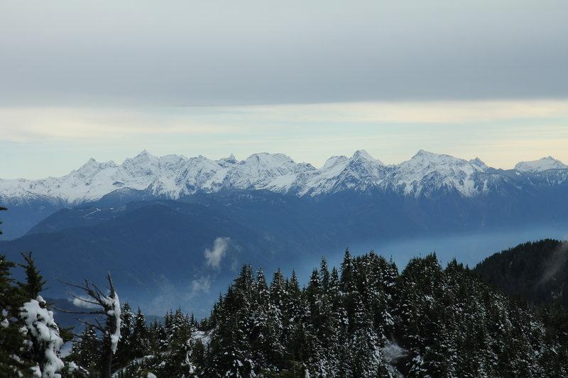 Cheam Range from Slollicum Peak