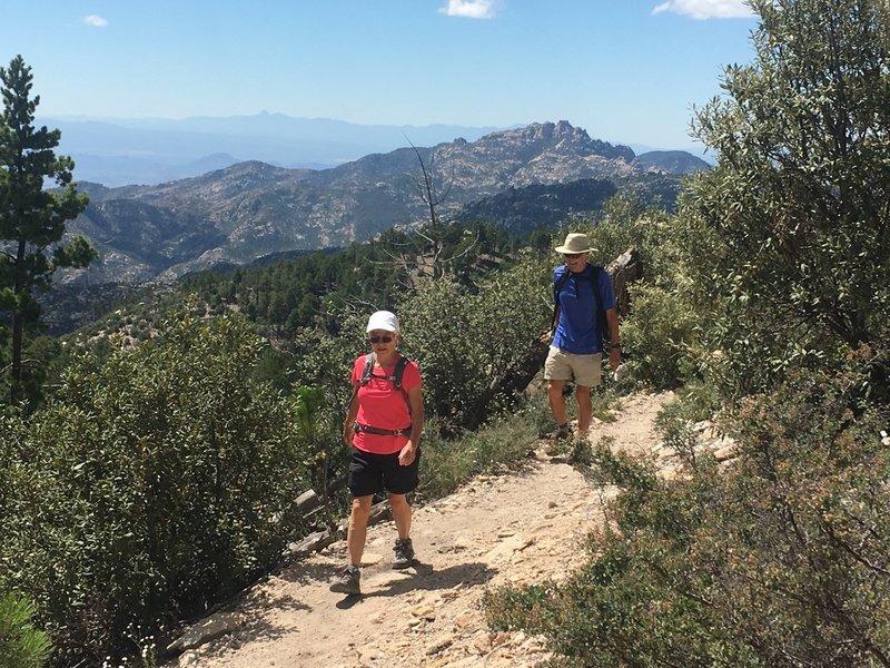 Big views on the Lower Aspen Trail