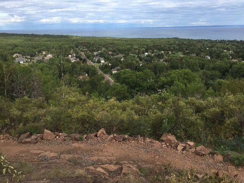 One of the best trails in Duluth. Fun rocky trail with amazing panoramas!
