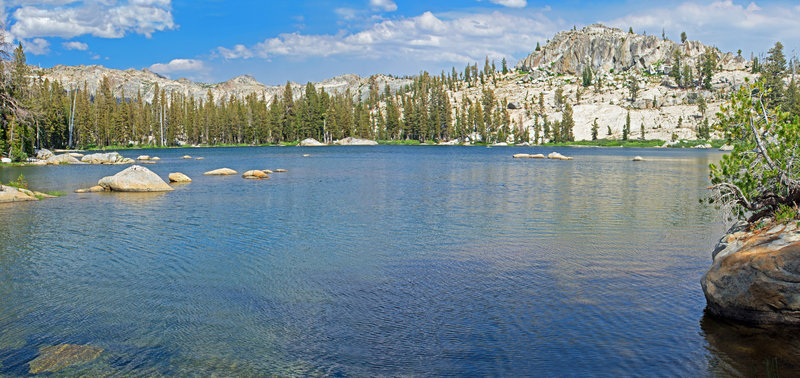 Upper Wire Lake from south shore