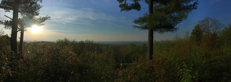 Limington Scenic Overlook shortly after sunrise.