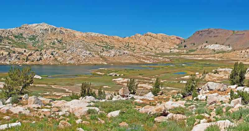 Emigrant Meadow Lake looking north