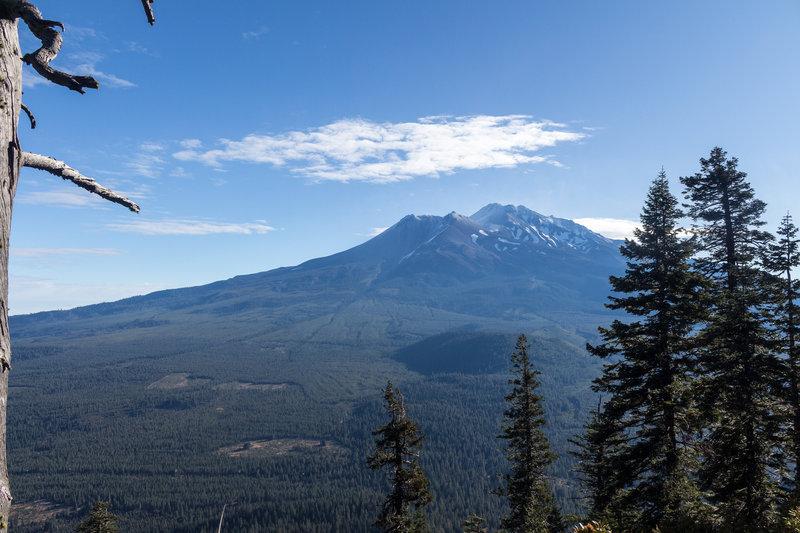 Mount Shasta and Shastina