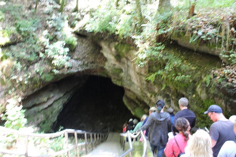 Historic Cave Tour enters the cave