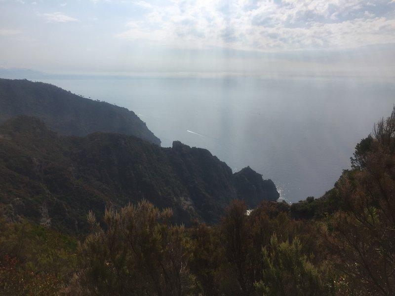 Endless sea views!