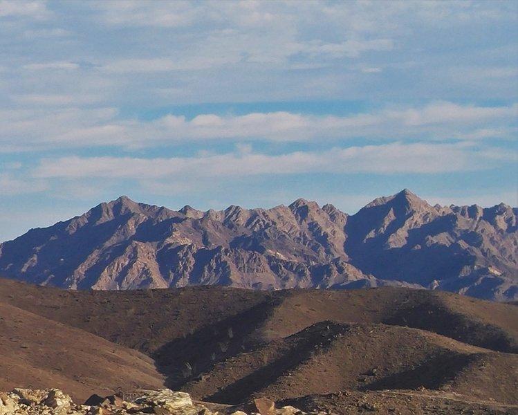 Beautiful Sonoran desert landscape.