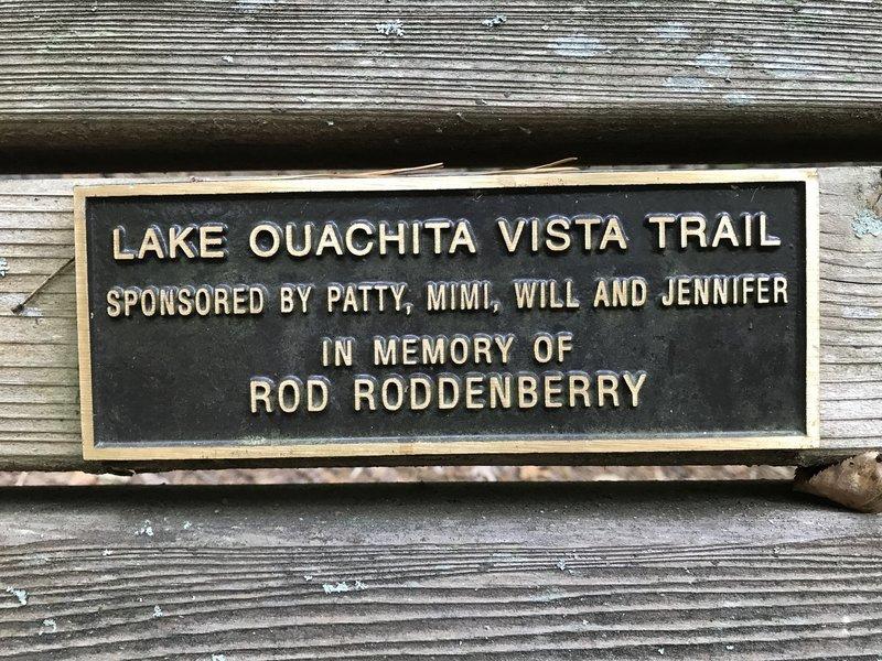 Rod Roddenberry Bench