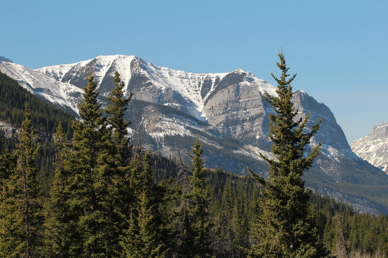 Bow Valley Provincial Park around April 2015
