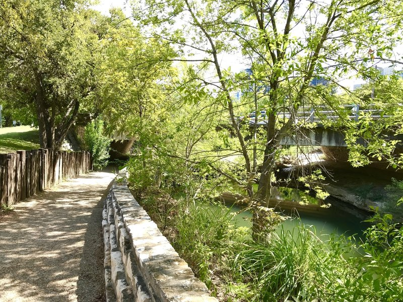 Lower Shoal Creek Trail....just a block or so from the downtown Austin REI store!