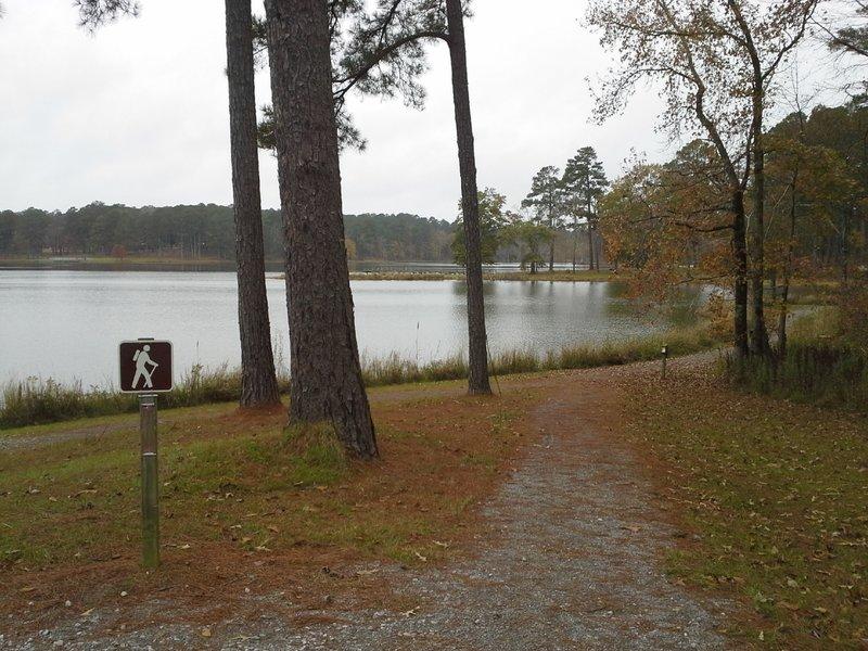 Lake Side Trail.