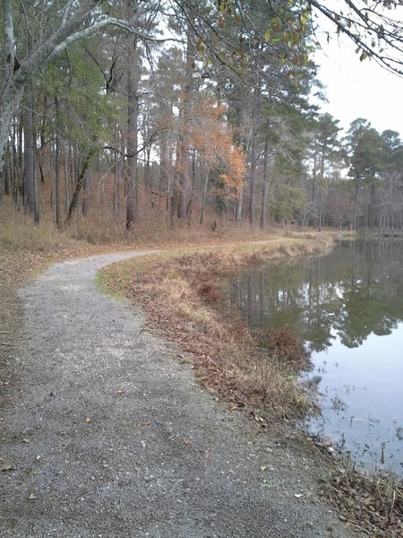 A section of the Lakeside Trail.