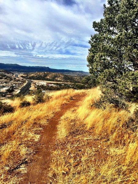 Looking west from Sundog Ranch Trail