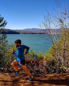 Fonta Flora 50k Running Trail Glen Alpine North Carolina