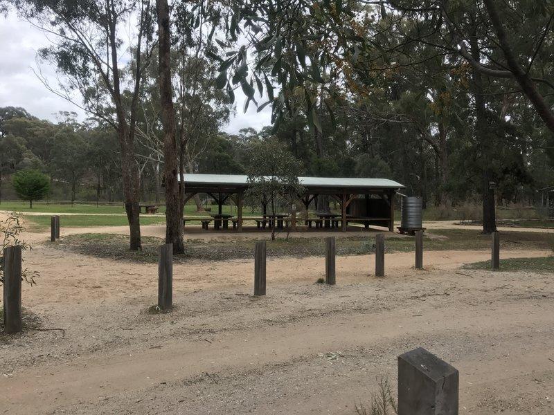 Picnic ground and shelter at No 7
