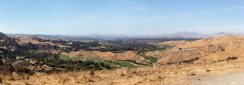 Panoramic view of the Tri-Valley with Mount Diablo in the background.