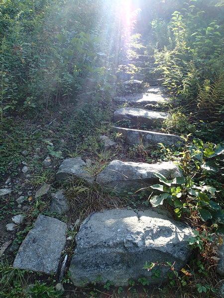 100 Steps Trail.