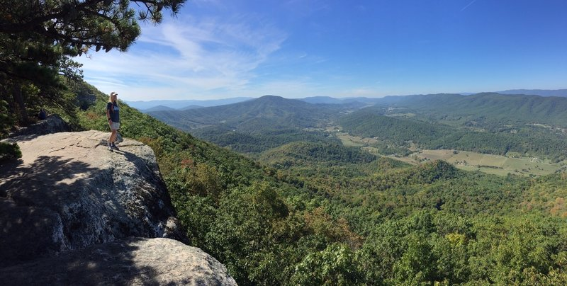 View from Tinker Cliffs.