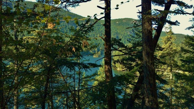 Mountain Lake below the Mountain Lake Loop
