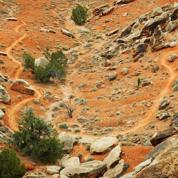 Red dirt, only in Moab.