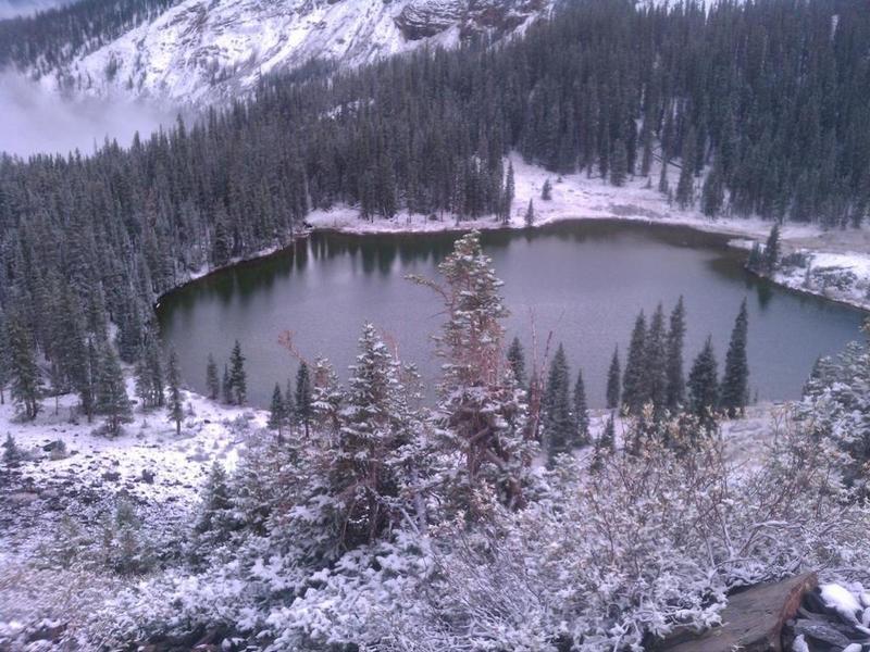 Above Mill Lake.
