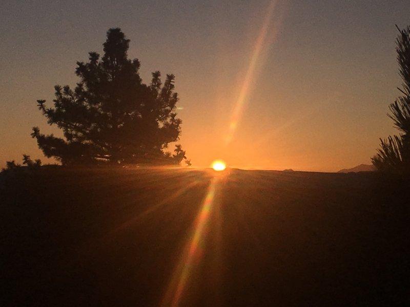 Sunrise over Mono Lake