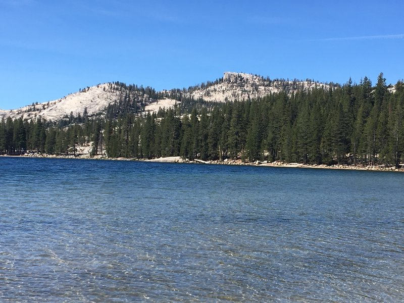 Dog Lake next to Lembert Dome