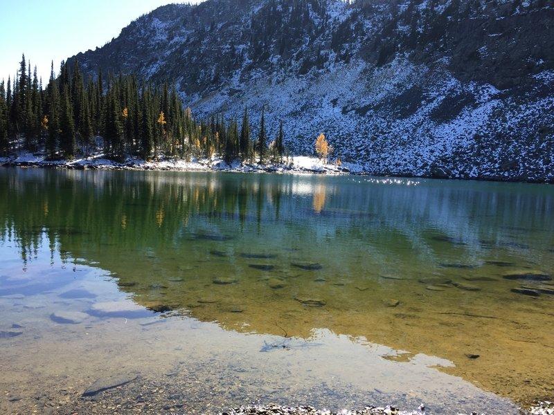 Bluebird Lake in early Oct