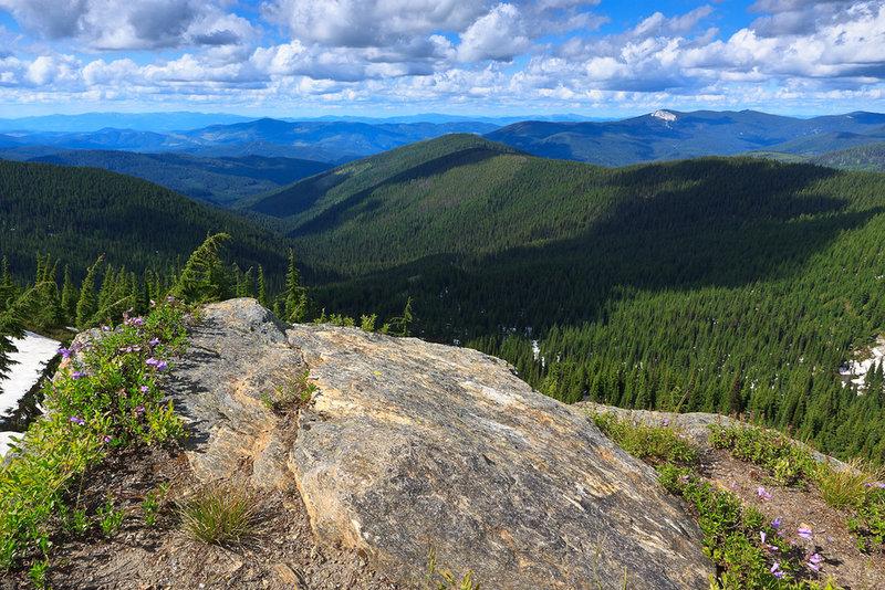 Grandmother Mountain Summit