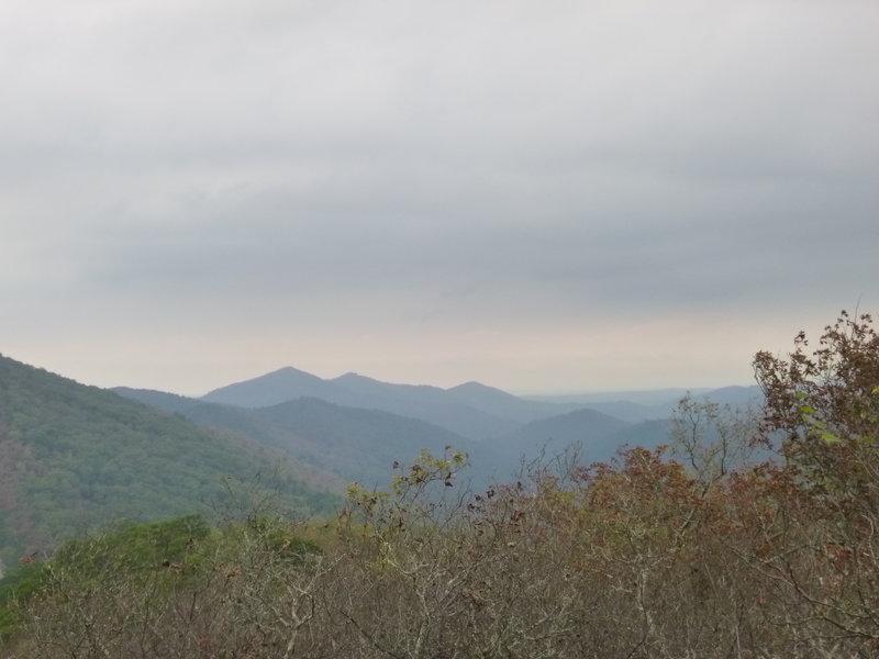 Looking west from Buckeye Trail.