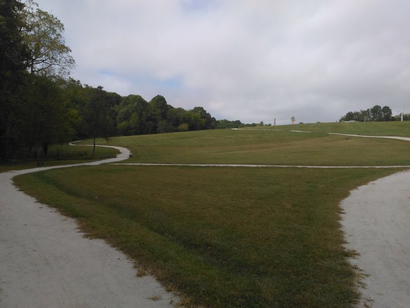 View of the Museum of Art Trail.