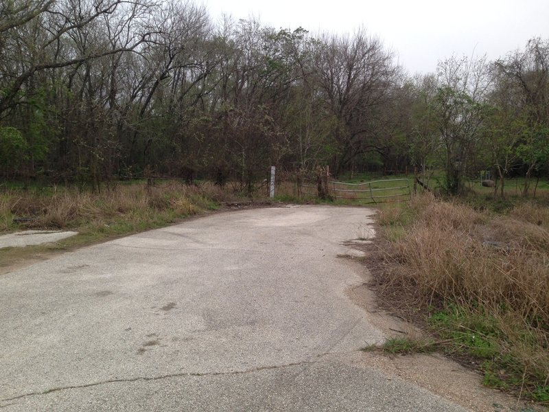 North end of Noack Trail from North Eldridge Parkway